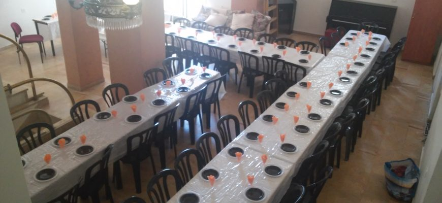Shabbat Dinner for 50 International Young Professionals
