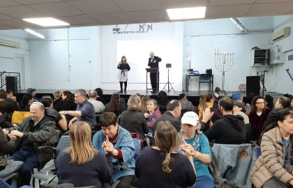 The Deaf and Blind community welcomes Rav Alex