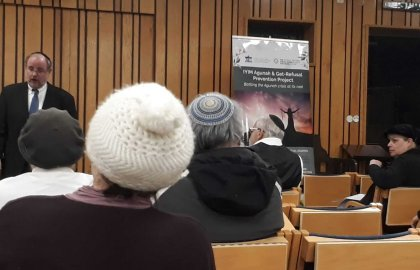 Efrat Hosts Rabbi Professor Michael Broyde for Shabbat