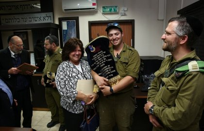 Marking Yom Yerushalayim with a Torah Dedication in Hebron!