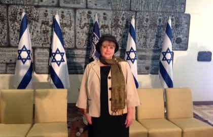Dr. Levmore at the Knesset!