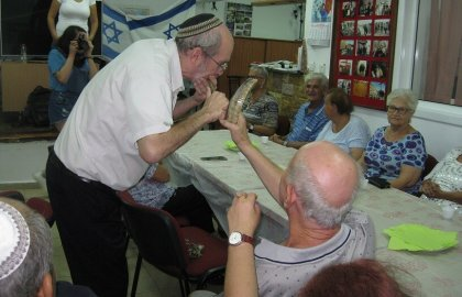 Rosh Hashana for the Deaf in Ashkelon
