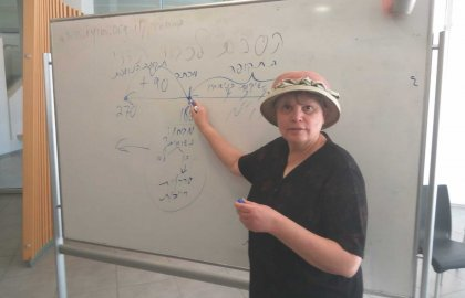 Dr. Levmore Presents to Rabbinic Students